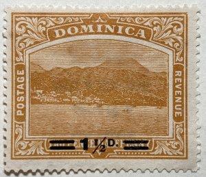 AlexStamps DOMINICA #55 VF Mint