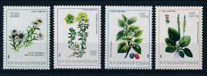 [I2062] Albania 1984 Flowers good set of stamps very fine MNH