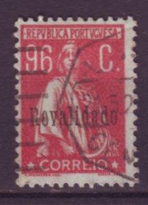 J22056 Jlstamps 1929 portugal part of set used #494 ovpt
