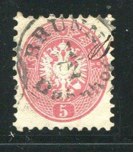 Austria #19 Used (LOT#L)