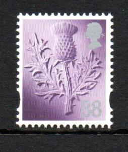 Great Britain Scotland Sc 42 2013 88p thistle stamp mint NH
