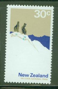 New Zealand Scott 455a MNH** Perf 14 Cook National park 1970