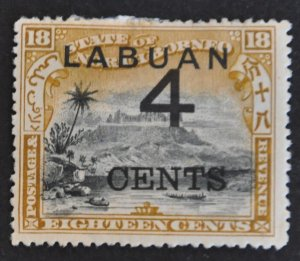 DYNAMITE Stamps: Labuan Scott #91 – MINT hr