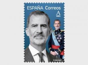 Stamps Spain 2021- Basic Series - HRH King Felipe VI