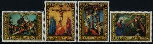 Anguilla 91-4 MNH Easter, Art, Crucifixion