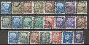COLLECTION LOT # 4061 GERMANY 23 STAMPS CLEARANCE 1956+ CV+$14