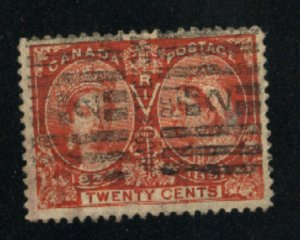 Canada #59  used  VF 1897   PD