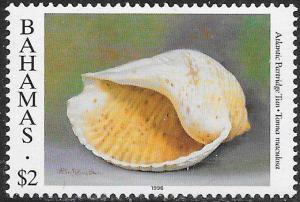 Bahamas 862 MNH - Shells - Atlantic Partridge Tun