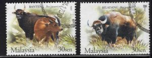 Malaysia Scott 974-975 Used stamps