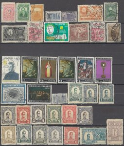 COLLECTION LOT OF # 1624 COLOMBIA 38 STAMPS 1899+ CLEARANCE