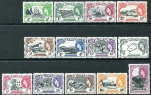 ST HELENA-1953-59 Set to 10/- Sg 153-145 MOUNTED MINT V30739