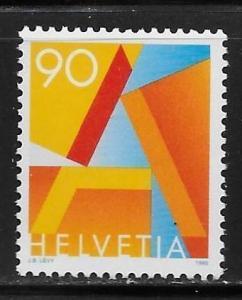 Switzerland 909 90c A single MNH