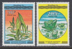 Congo People's Republic 1134A-1134B MNH VF