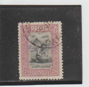 Papua New Guinea  Scott#  106  Used  (1932 Pottery Making)