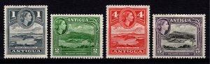 Antigua 1953-62 Elizabeth II Definitives, part set [Unused]