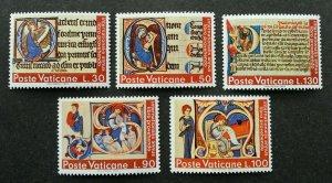 Vatican International Year Of Book 1972 (stamp) MNH