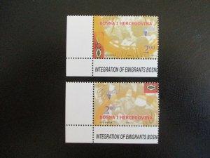 Bosnia and Hercegovina #535-36 Mint Never Hinged (M7O4) - Stamp Lives Matter! 3