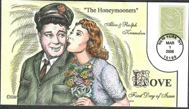 US Collins FDC Sc#3999 The Honeymooners