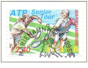 Aland Sc  147 1998 Tennis Tournament stamp used