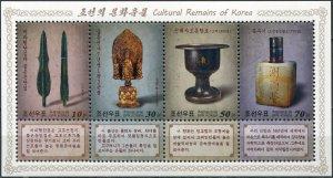 Korea 2019. Cultural Artifacts of Korea (MNH OG) Souvenir Sheet