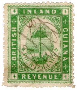 (I.B) British Guiana Revenue : Inland Revenue $4