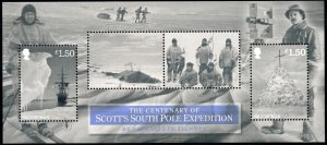 Isle of Man --2012- South Pole Expedition  MNH  Sheet  # 1527