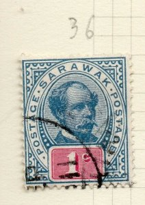 Sarawak 1899 Early Issue Fine Used 1c. 276140