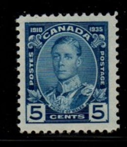 Canada Sc 214 1935 5 c Prince of Wales stamp mint NH