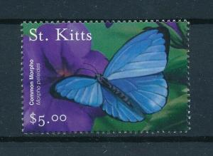 [97710] St. Kitts 2001 Insect Butterfly From Sheet MNH