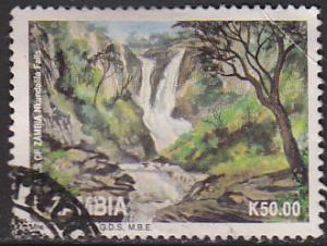 Zambia 617 Hinged Used 1993 Nkundalia Water Falls