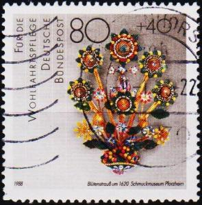Germany. 1988 80pf+40pf S.G.2255 Fine Used