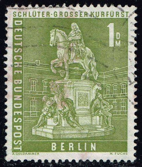 Germany #9N135 Monument of Frederick William; Used (2.00)