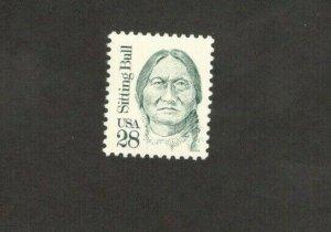 2183 Sitting Bull Single Stamp Mint/nh FREE SHIPPING