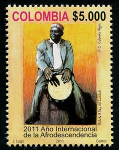 HERRICKSTAMP COLOMBIA Sc.# 1362 Int'l Day of Afrodescendants