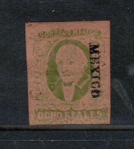 Mexico #12 Very Fine Mint Unused (No Gum) **With Certificate**