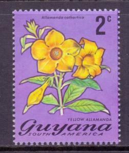 Guyana Scott 134, 1971 Flowers 2c MH*