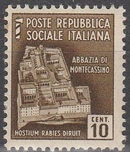 Italy- ISR  #23 MNH F-VF (V1481)