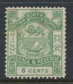 North Borneo  SG 43 blue green no gum no cancel  please see scan & details