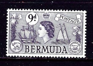 Bermuda 154 MNH 1953 issue