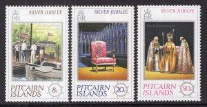 Pitcairn Islands 160-162 MNH VF