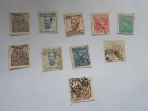 BRAZIL STAMPS. LOT OF 10. MIXED CON. #26