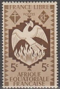 French Eq Africa #142  MNH F-VF   (SU4805)