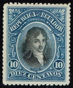 Ecuador #148 Jose Mejia; Unused (0.50)