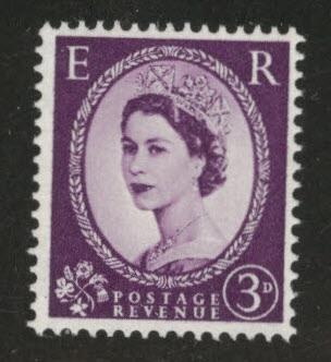 Great Britain Scott 297 MNH** QE2