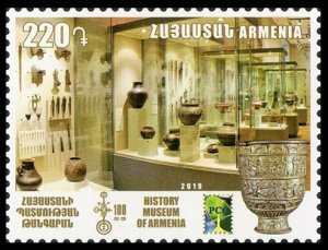 2019 Armenia 1125 RCC. 100 years to the Museum of the History of Armenia