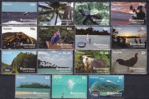 Cook Islands #1367-81  MNH  CV $38.00 (Z1436)