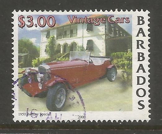 BARBADOS  1003  USED,  VINTAGE CARS, 1950 BENTLEY SPECIAL