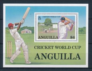 [58231] Anguilla 1987 Cricket World Cup MNH Sheet