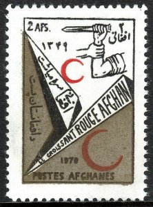 Afghanistan 836, MNH. Red Crescent Society, 1970