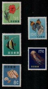 Ryukyu Scott 58-62 Mint NH [TE224]